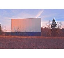 Screen - Echo Drive In Photographic Print