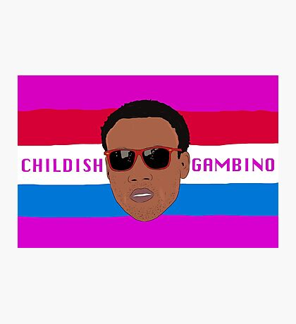 Childish Gambino / Donald Glover Photographic Print