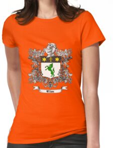 Wilson Family Crest 1 Womens Fitted T-Shirt