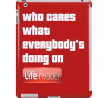 Grand Theft Auto Life Invader Design iPad Case/Skin