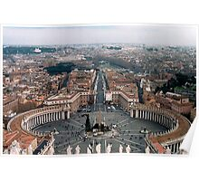 The Vatican Colonnade  Poster
