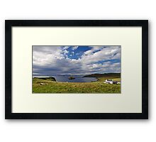 View from Duntulm Castle Framed Print