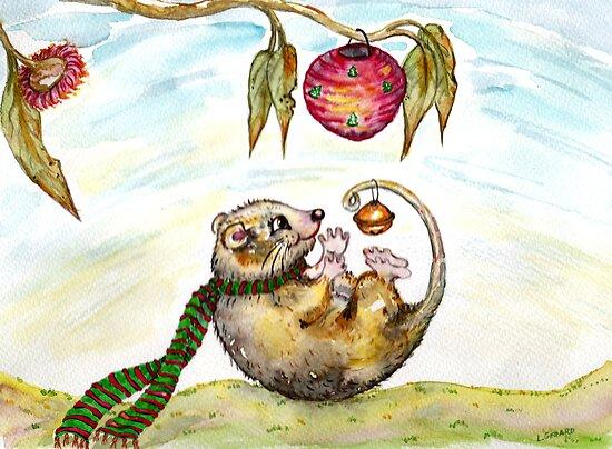 Jingle Possum Bells by Lorna Gerard