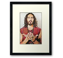 Russell Brand Fan art Framed Print