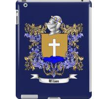 Wilson Family Crest 3 iPad Case/Skin