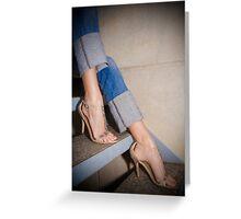 Mollini Shoes Greeting Card