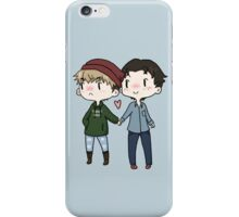 Red Beanies and Gay Babes iPhone Case/Skin