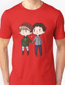 Red Beanies and Gay Babes Unisex T-Shirt