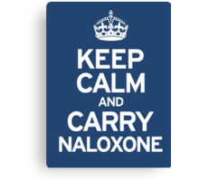 Carry Naloxone Canvas Print