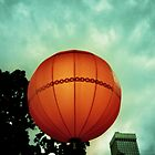 Lantern moon by Una Bazdar