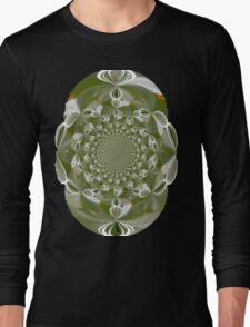 T-shirt,Metalic Glow Long Sleeve T-Shirt