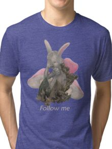 White Rabbit Tri-blend T-Shirt