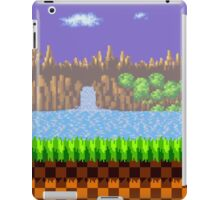 Green Hill Zone iPad Case/Skin