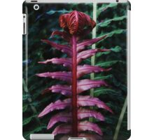 Red Fern #1 iPad Case/Skin