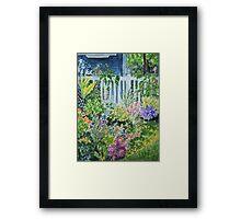 Summergarden Framed Print
