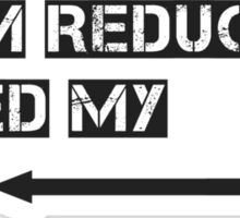 Harm reduction Sticker