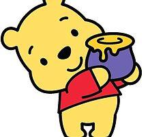 Winnie The Pooh by zalfienotonfire