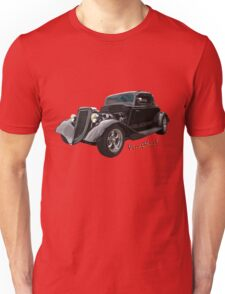 34 Ford Coupe in Black T-Shirt Unisex T-Shirt