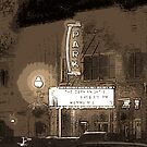 The Old Park Theatre in Goderich Ontario by Jamie Wogan Edwards