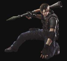 Leon Resident Evil - Shirt by jairbaum