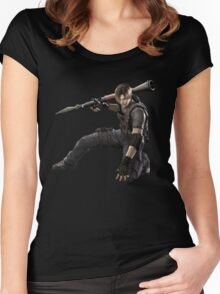 Leon Resident Evil - Shirt Women's Fitted Scoop T-Shirt