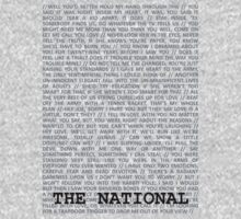 The National Typography by OfShoesAndShips