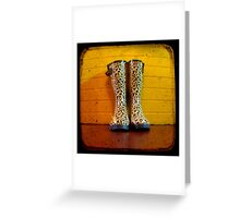 Gumboots Greeting Card