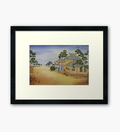 The Country Pub..SOLD Framed Print