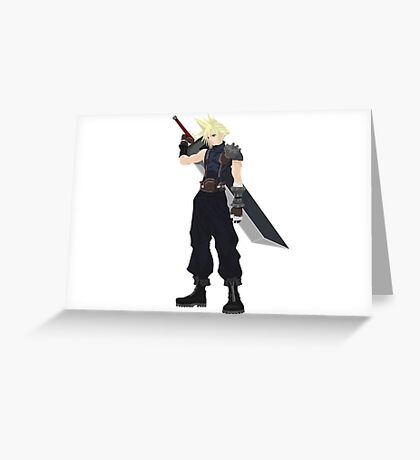 Cloud (FF7) Greeting Card
