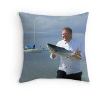 Catch of the Day! Throw Pillow