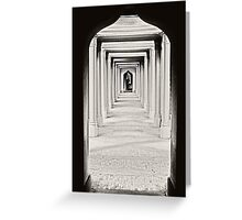 The Colonnade Greeting Card