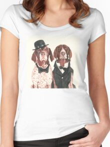F.I.P. @ifitwags (The pointer brothers) Women's Fitted Scoop T-Shirt