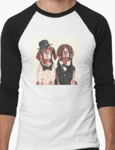 F.I.P. @ifitwags (The pointer brothers) Men's Baseball ¾ T-Shirt