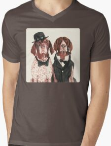 F.I.P. @ifitwags (The pointer brothers) Mens V-Neck T-Shirt