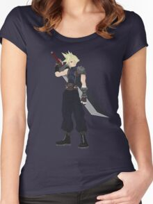 Cloud (FF7) Women's Fitted Scoop T-Shirt