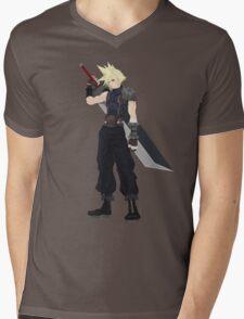 Cloud (FF7) Mens V-Neck T-Shirt