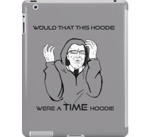 Would That This Design Were A TIME Design... iPad Case/Skin