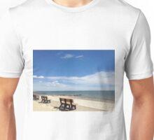 Cape Cod Summer Beach Scene Unisex T-Shirt