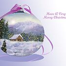 Have A Very Merry Christmas by Ilunia Felczer