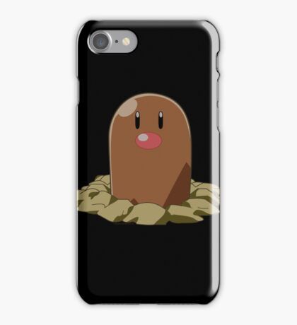 diglett is love iPhone Case/Skin