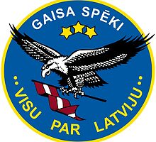 Emblem of the Latvian Air Force by abbeyz71