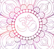 Pink Lotus Sticker