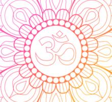 Ohm Lotus Sticker