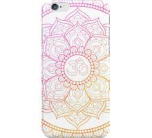 Ohm Lotus iPhone Case/Skin