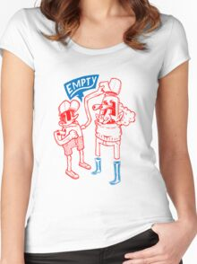 You Are Empty!  Women's Fitted Scoop T-Shirt