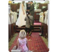 Young Girl at a Wedding  iPad Case/Skin