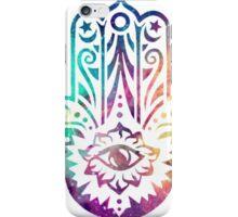 Galaxy Hamsa iPhone Case/Skin