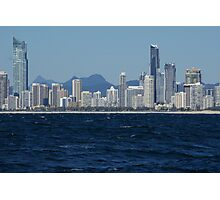 """Surfers Paradise""..Queensland. ..Australia. Photographic Print"