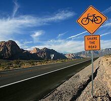 Share the Road, Nevada 2007 by SuomiAdam