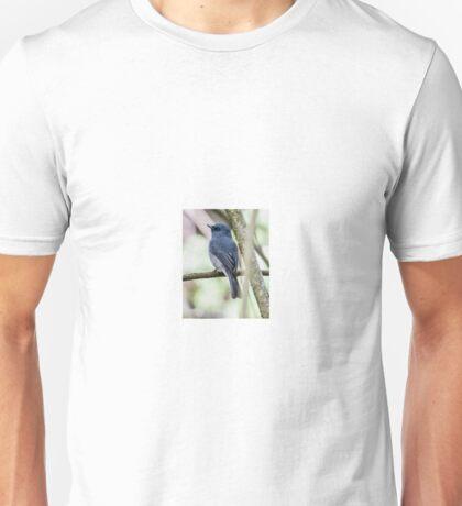 Dull Blue Flycatcher4760 Unisex T-Shirt